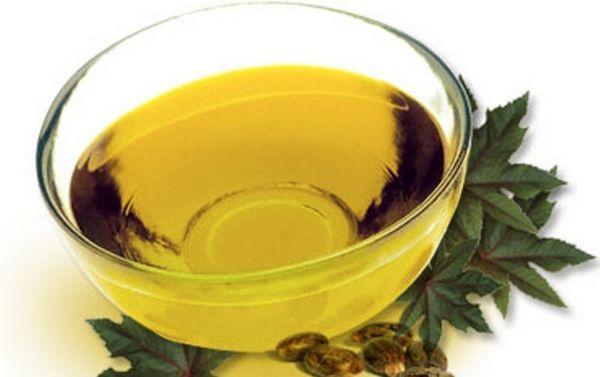 Смесь касторового, репейного масла и сока аллоэ