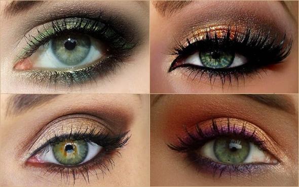 Макияж для рыженькой с зелеными глазами