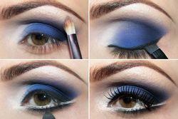 Как правильно поэтапно наносить тени на глаза и как растушевать тени