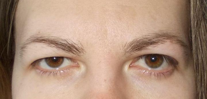 тяжелым глаз веком фото макияжа с