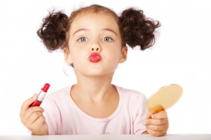 Основы макияжа для детей
