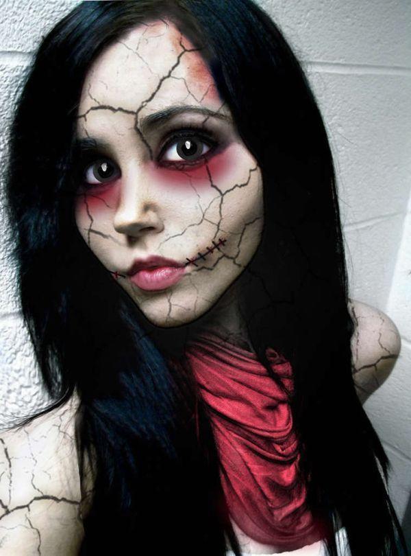 Как сделать макияж зомби
