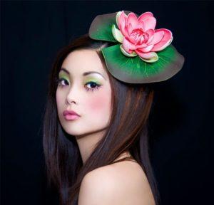 Техника создания японского макияжа