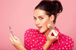 Правильная техника нанесения макияжа