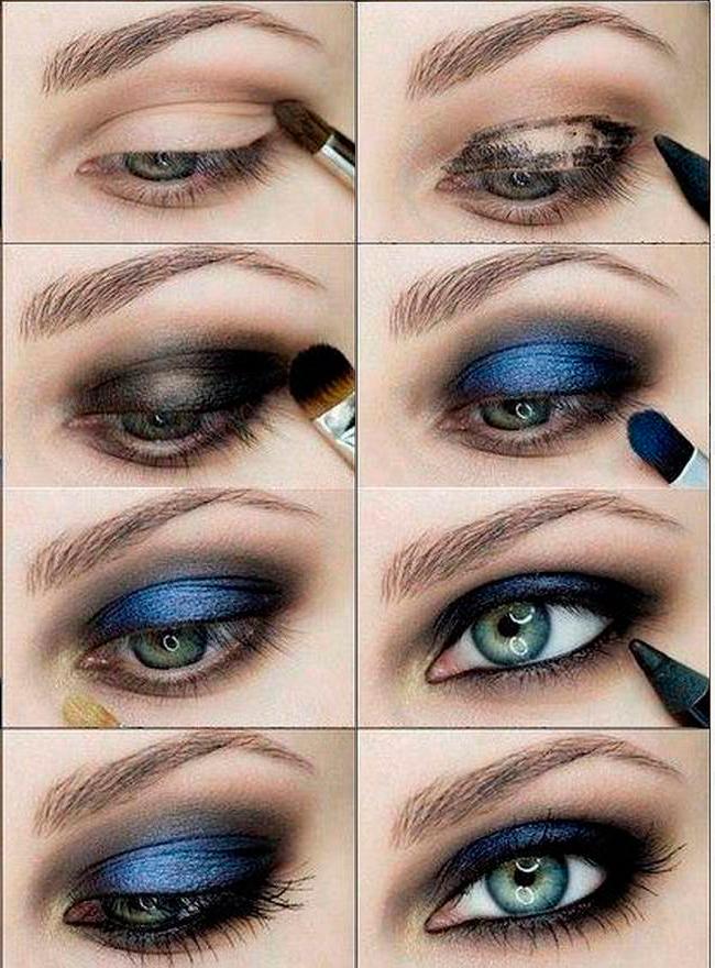 как делать макияж глаз - на wikimakeup.ru